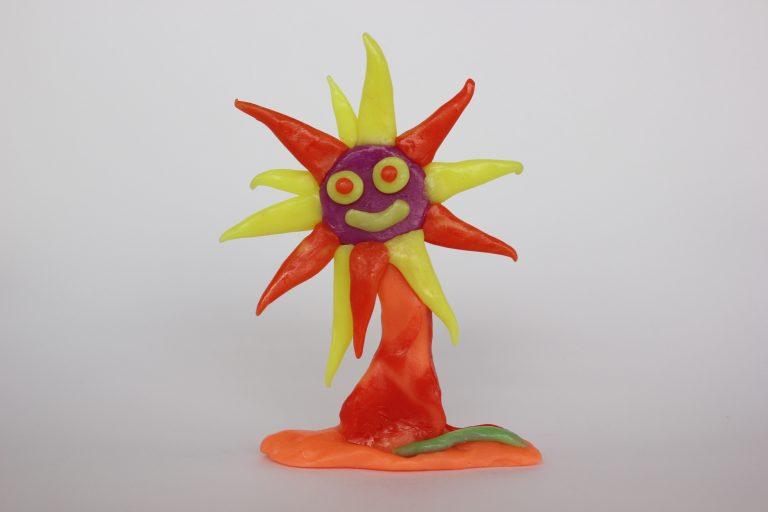 5 bunga matahari ekspresif